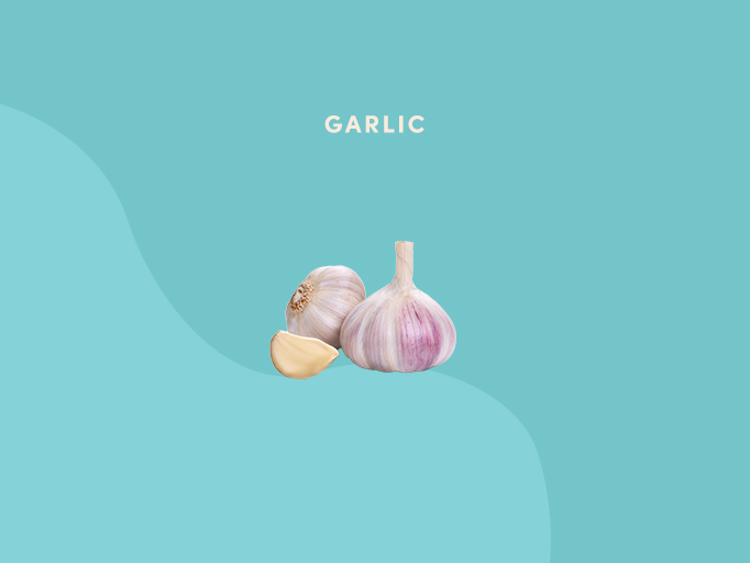 Best foods for joint pain - garlic
