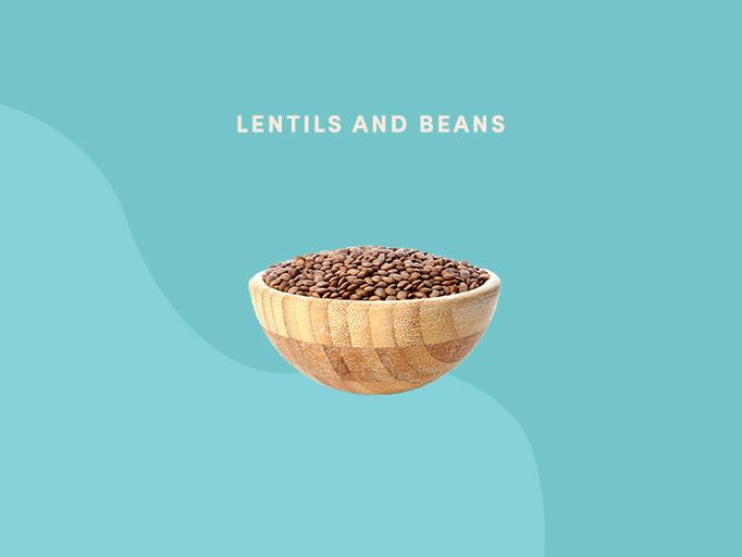 best foods for joint pain - lentils