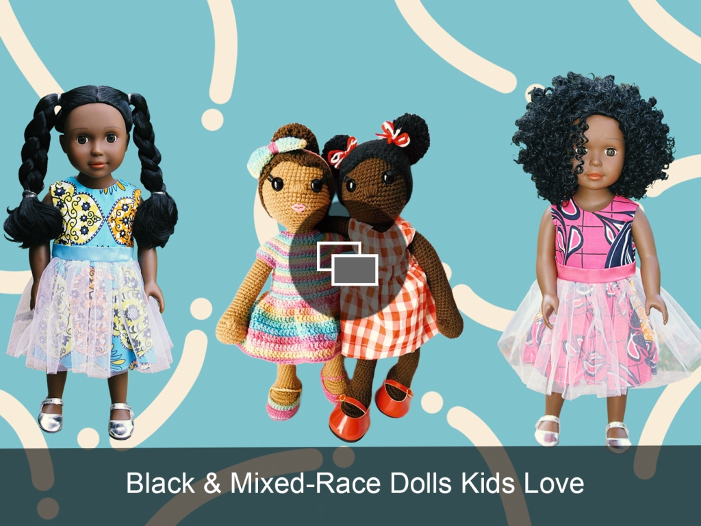 black mixed race dolls slideshow embed