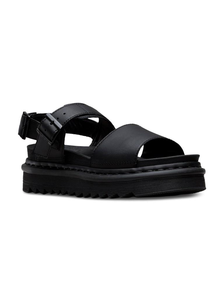 Dr. Martens Zebrilus Voss Leather Platform Sandals