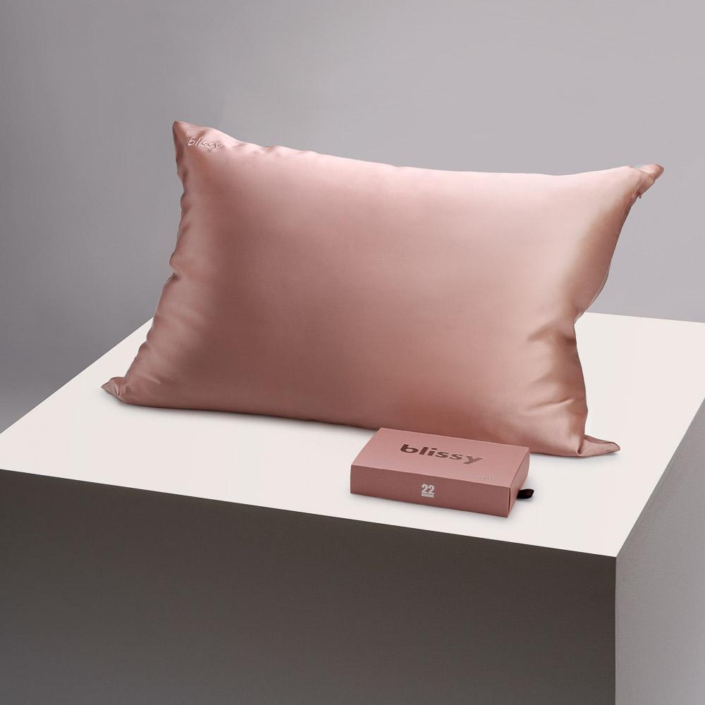 Blissy Rose Gold Pillowcase