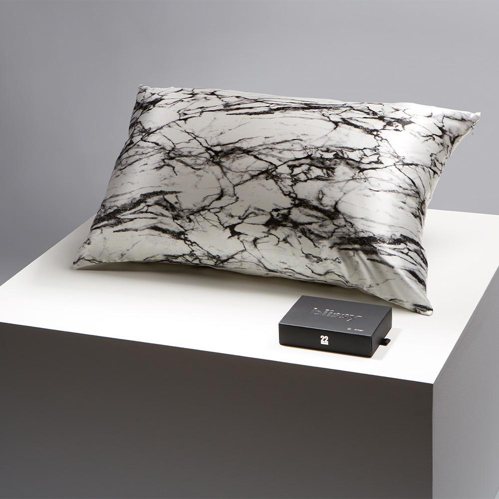 Blissy Marble Silk Pillowcase