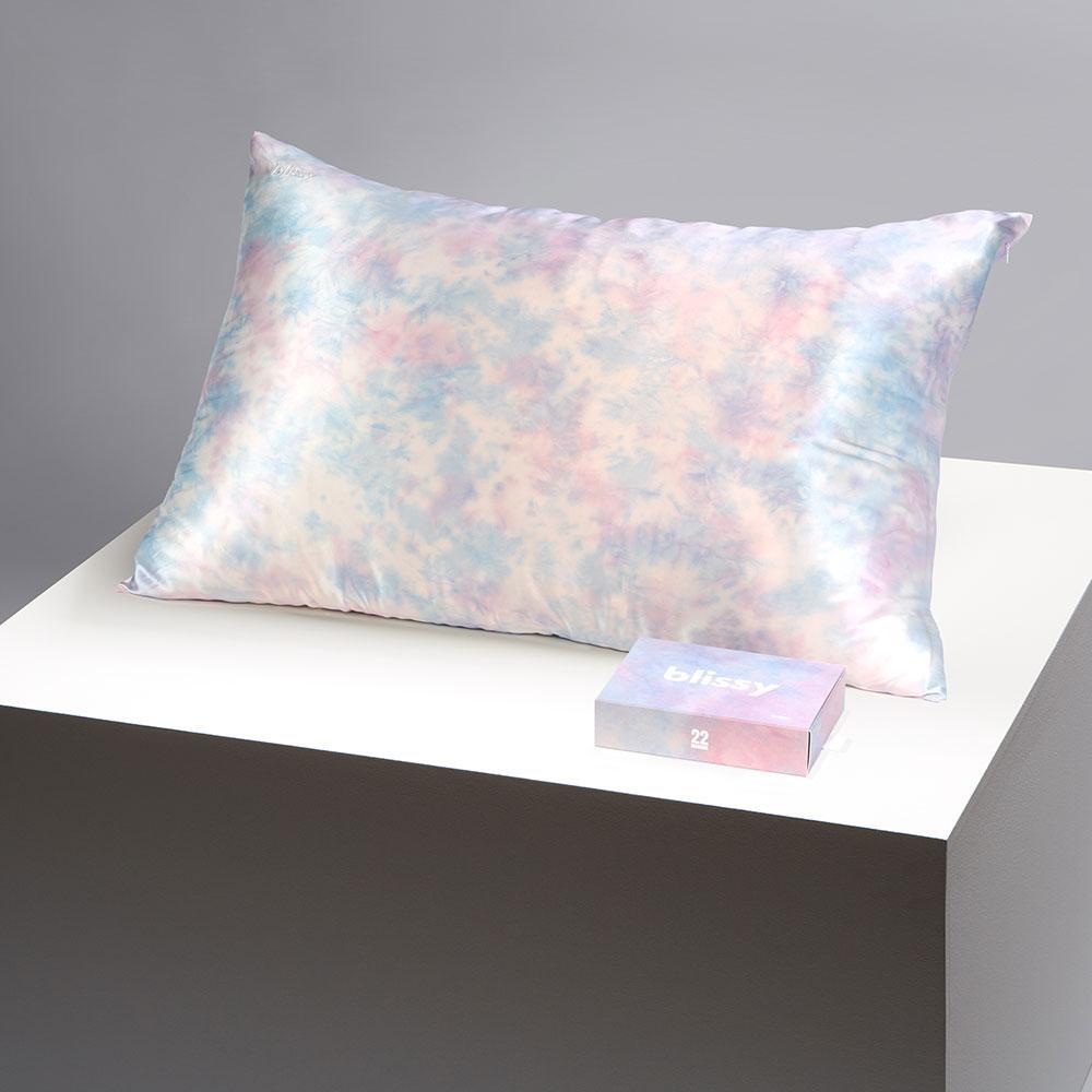 Blissy Tie-Dye Silk Pillowcase