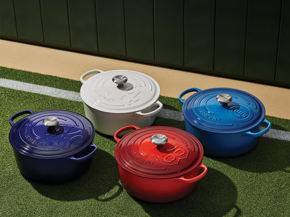 Le Creuset Launches 4 New Mlb Dutch Ovens Sheknows