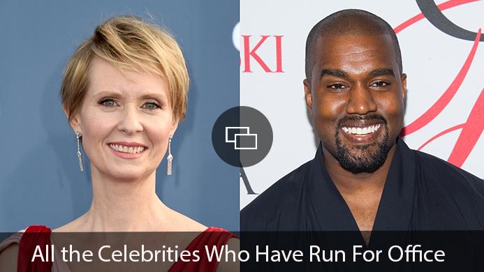 Cynthia Nixon, Kanye West