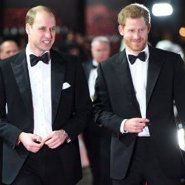 The Duke of Cambridge and Prince