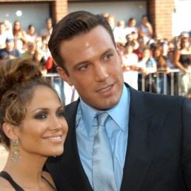 Ben Affleck and Jennifer Lopez at