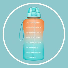 Kardashian water bottle hydation