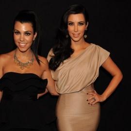 Kourtney Kardashian, Kim Kardashian in attendance