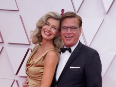 Paulina Porizkova and Aaron Sorkin Shocking Oscars Debut Was Only Their Second Date