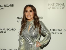 Salma Hayek Gets Real About Why Her Breasts Have Gotten Bigger Over the Years