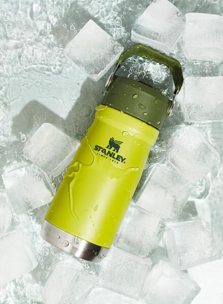 IceFlow Flip Straw Water Bottle