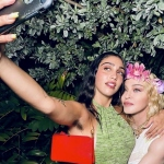 Lourdes Leon Dressed in 'Like a Virgin' Wedding Gown Is the Spitting Image of Madonna In This Throwback Picture