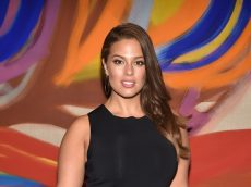 Ashley Graham Channels 'Earth Mother Vibes' In Latest Bare Baby Bump Photo