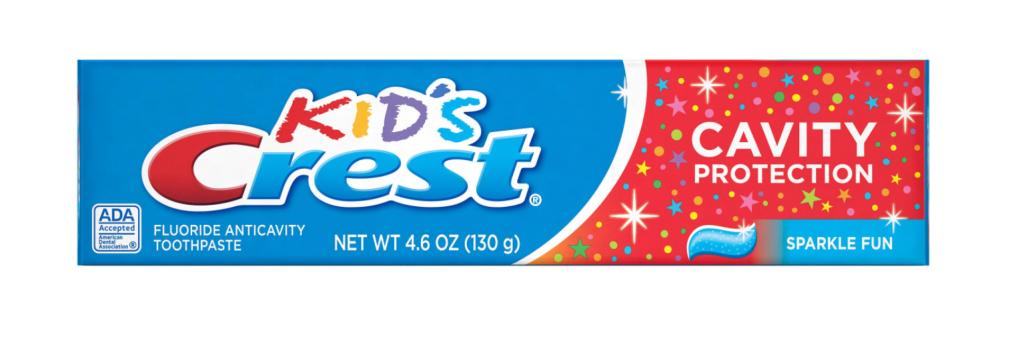 Kids Crest Cavity Protection