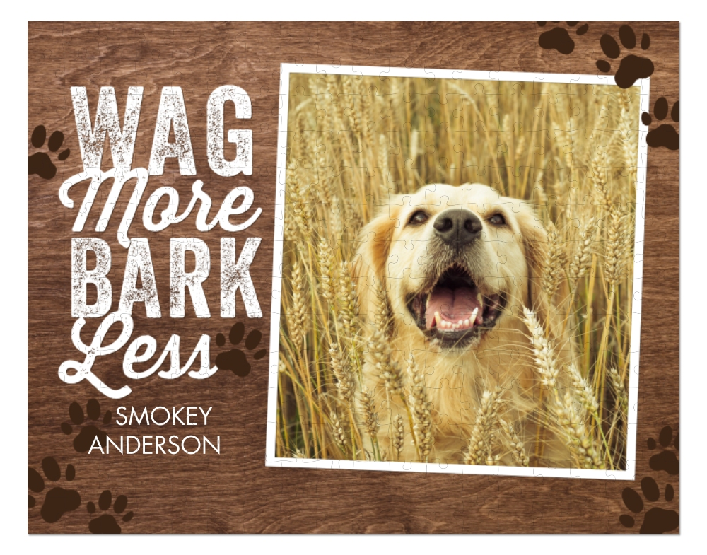 Wag More, Bark Less Puzzle