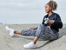 Naomi Osaka Revealed She Loves This Percussion Massager & It's 28% off at Nordstrom Right Now