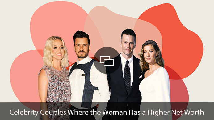 Katy Perry and Orlando Bloom, Tom Brady and Gisele Bündchen