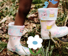 These Limited-Edition Hunter X Peppa Pig Boots & Rain Gear Will Make Splashing in Puddles Even More Fun