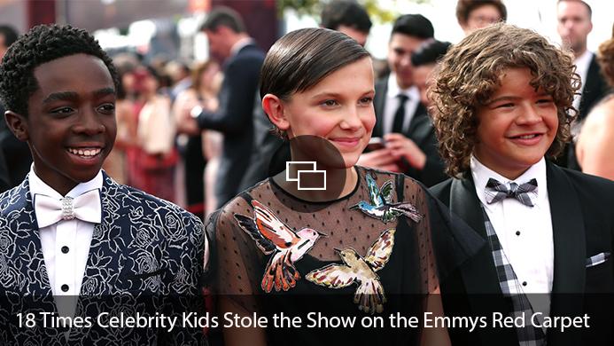 Celebrity Kids Emmys Red Carpet