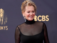Jean Smart Had the Sweetest Exchange With Her Rarely-Seen Young Son on the Emmys Red Carpet