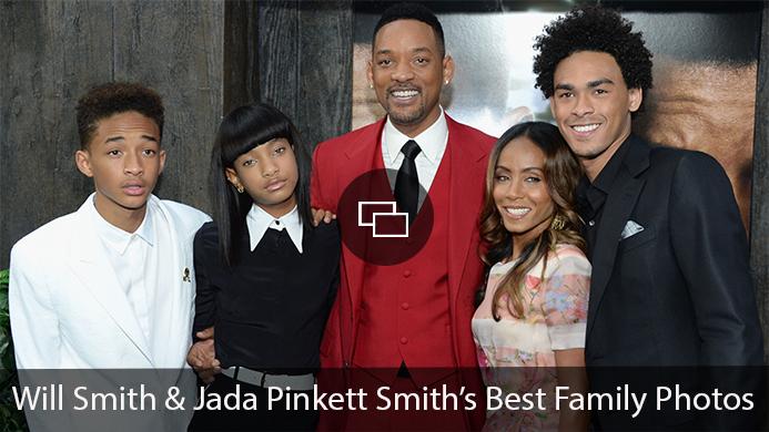 Will Smith Jada Pinkett Smith Willow Smith Jaden Smith Trey Smith family photos