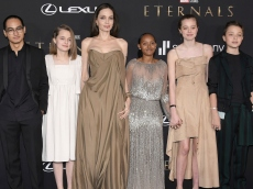 Angelina Jolie's 'Eternals' Premiere Was a Family Affair With 5 of Her 6 Kids