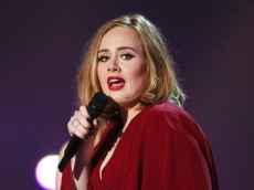 Adele Stunned in This Sexy Leather Look for a Lakers Date Night With Rich Paul
