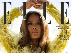 These New Salma Hayek Photos for ELLE Include a Peek at One Beloved Family Member